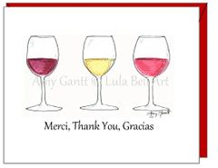 Thank you -Merci,Thank You, Gracias Greeting Card