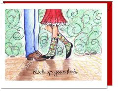 Anniversary - Boot Scootin Greeting Card