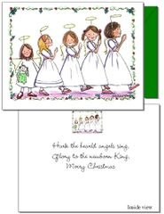Christmas - Angel Parade Card