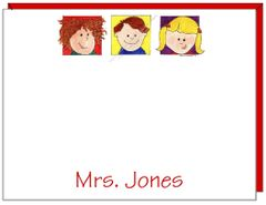 A Personalize Teacher - Kids Flat Cards