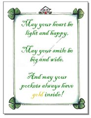 St.Patrick's Day - Irish Luck Greeting Card