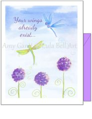 Birthday - Dancing Dragonflies Greeting Card