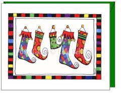 Holiday - The Stockings Greeting Card