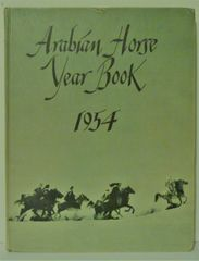 1954 Arabian Horse Yearbook