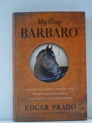 My Guy Barbaro by Jockey Edgar Prado