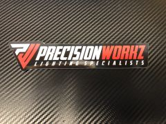 PrecisionWorkz Slap Sticker