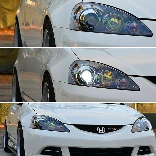 Acura RSX Retrofit PrecisionWorkz - 2006 acura rsx headlights