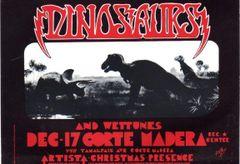 Dinosaurs Corte Madera postcard