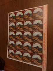Grateful Dead - Wake of the Flood - uncut sheet stickers 1983