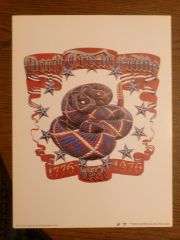 Don't Tread on Me - 1976 Mouse and Kelley art print