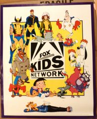 FOX KIDS NETWORK 1992 POSTER