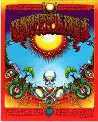 Grateful Dead - Aoxomoxoa handbill - 1982
