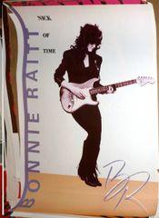 Bonnie Raitt - Nick of Time - 1989 poster