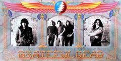 Grateful Dead memorial poster
