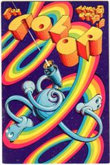 "Victor Moscoso mini-comix ""COLOR"""