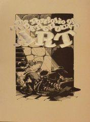 Portfolio of Underground Art - cover art by Rick Griffin