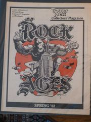 Rock Ages - Trouser Press - Rick Griffin art 1982