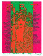 Artist Rights Today I handbill 1986