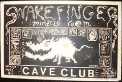 Snakefinger - Frank Kozik 1987 - Cave Club