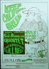 FD-16 Keep California Green - Stanley Mouse - reprint