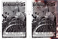 Ninth Wave double handbill (damaged) Rick Griffin