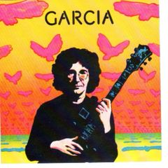 Jerry Garcia album handbill