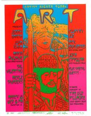 Artist Rights Today III Handbill 1987