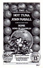 Orange County Jam handbill