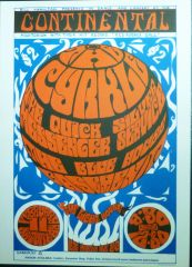 The Cyrkle at the Continental Auditorium 1966 - vintage reprint