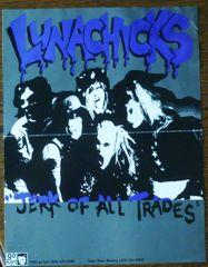 Lunachicks - Jerk of All Trades - gig blank