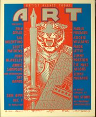Artist Rights Today II poster 1986