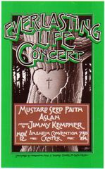 Everlasting Life Concert - Rick Griffin - handbill