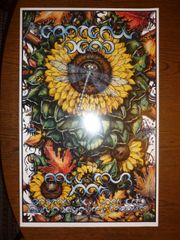 Grateful Dead Fall Tour 1995 poster