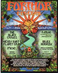 Further Festival 1997 postcard