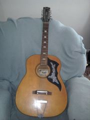 Kent 12 strings chord guitar