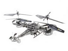 RC TWIN ROTOR AVATAR 2.4 GHZ 4CH 9.5 INCH DRONE
