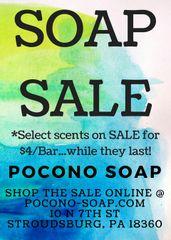 SOAP SALE