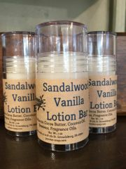 Sandalwood Vanilla Lotion Bar Stick