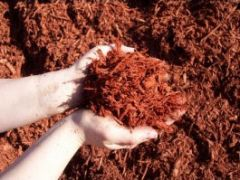 Bulk Mulch - Red Hardwood Mulch