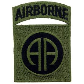 Army Airborne Subdued Patch