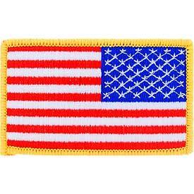 USA Flag (Right Arm)