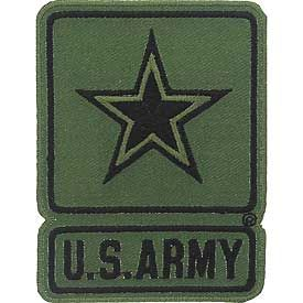 Army Subdued Logo Patch
