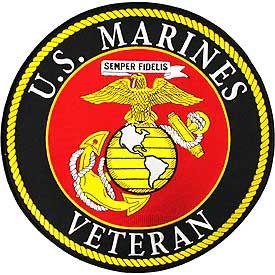 U.S. Marines Veteran Patch