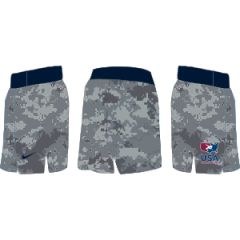 Nike Men's USAWR Fight Short - Camo