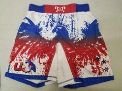 Splattered Eagle Fight Shorts