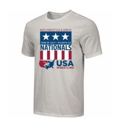 Kids Freestyle & Greco National Event Shirt- Grey Cotton