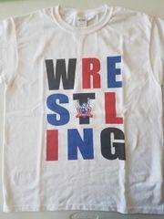 Stacked Wrestling Shirt- White