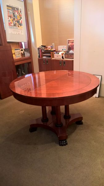 Nice And Distressed Nice And Distressed - Pedestal conference table