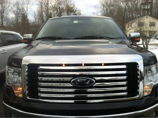 2012 Ford F 150 Xlt >> 2009-2012-Ford-F-150-Raptor-Style-Grill-Clear-Light-Kit | Raptor Style Grill Light kit Rear seat ...