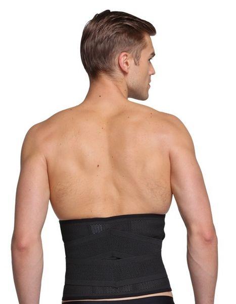 6db7c26e2d1 Men s Abdomen Belt Waist Trimmer Lumbar Back Support Belt Waist C ...